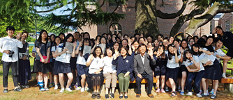Lecture by Prof. Sookyung Choi at Jinju Girls' High School