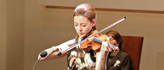 Congratulatory Performance by Violinist Clara-Jumi Kang