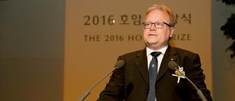 Congratulatory Address by Dr. Sven Lidin, Professor at Lund University