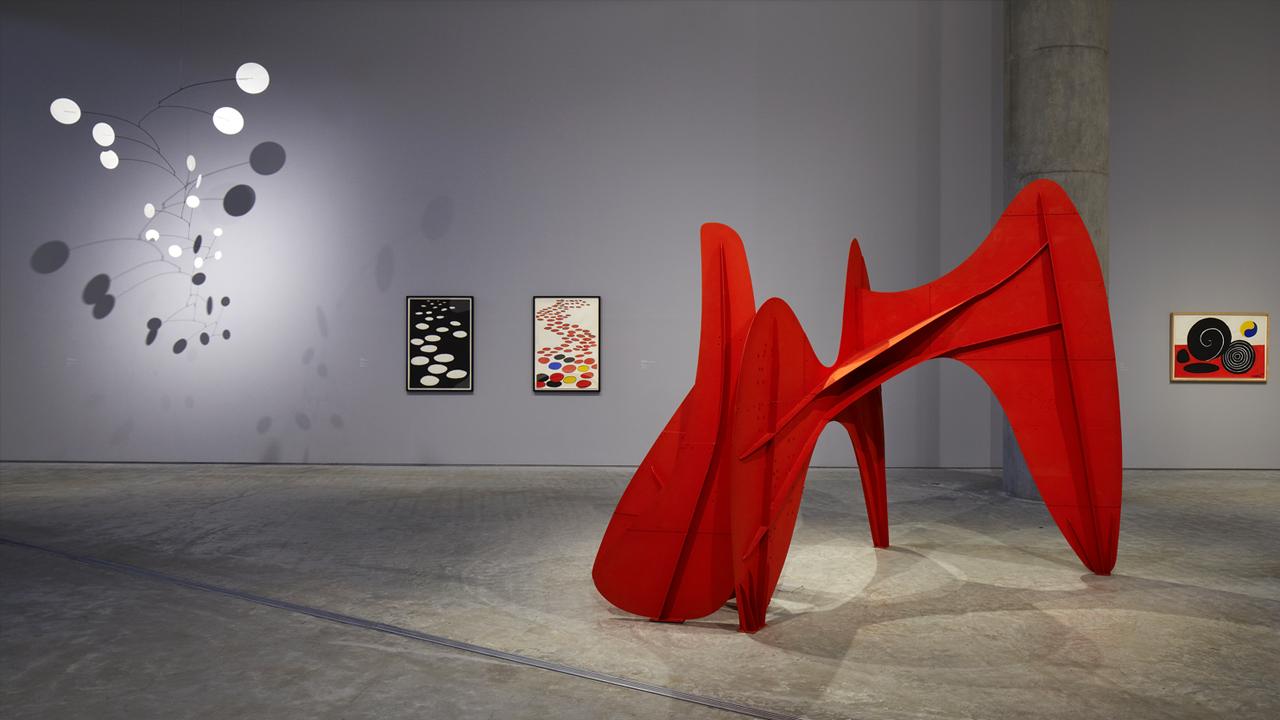 Calder 動く彫刻 アレクサンダ-・カルダ-