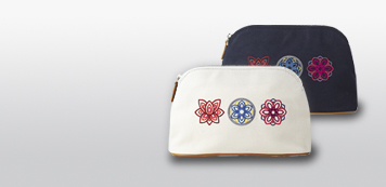 Dancheong Embroidered Pouch