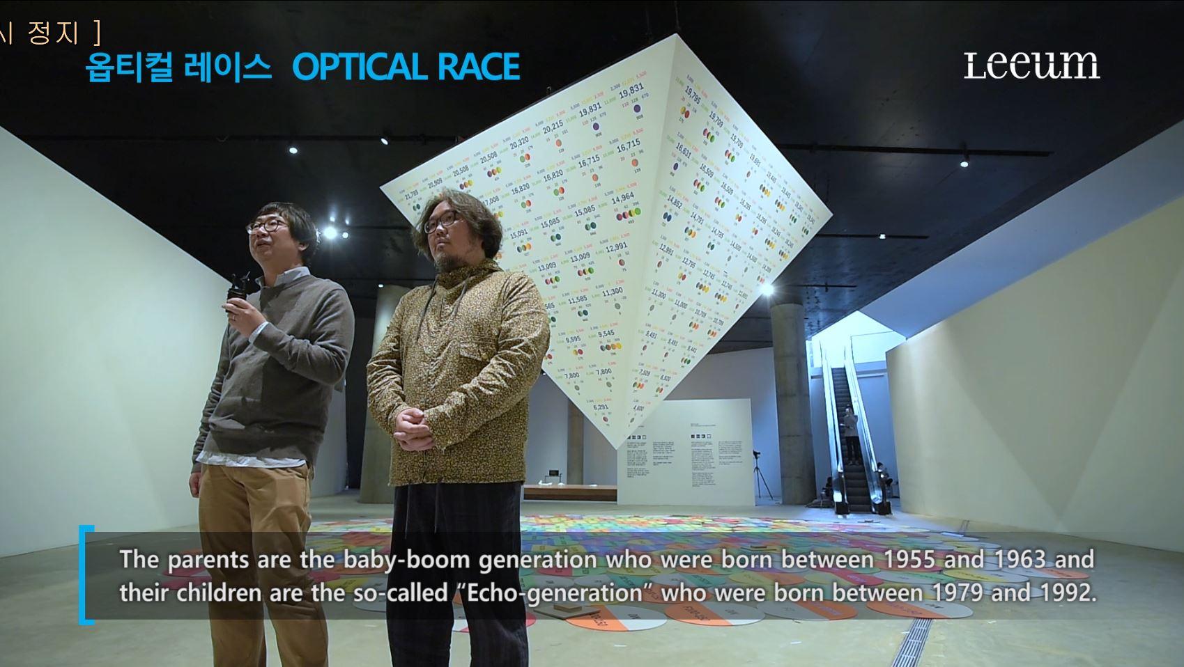 ARTSPECTRUM2016 - Optical Race