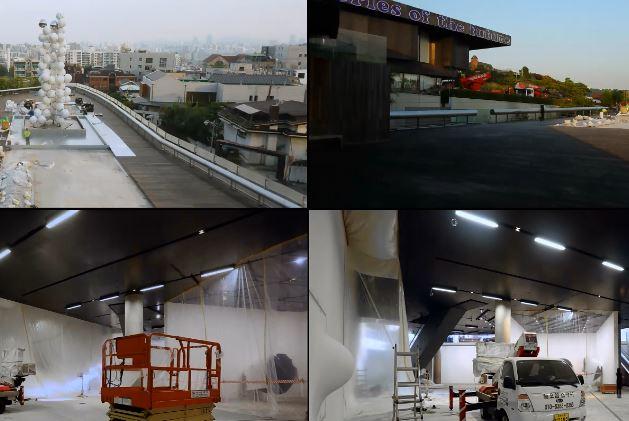 Exhibition installation_Kapoor