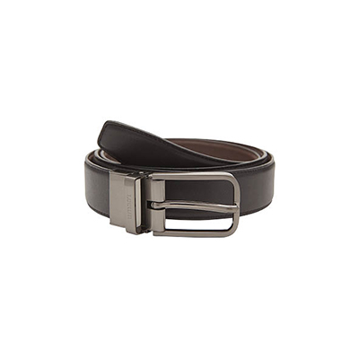 Leeum Reversible Leather Belt