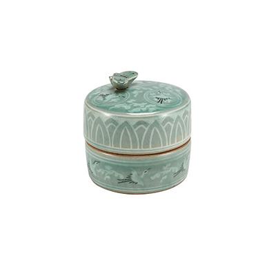 Celadon Orgel Jewelry Box